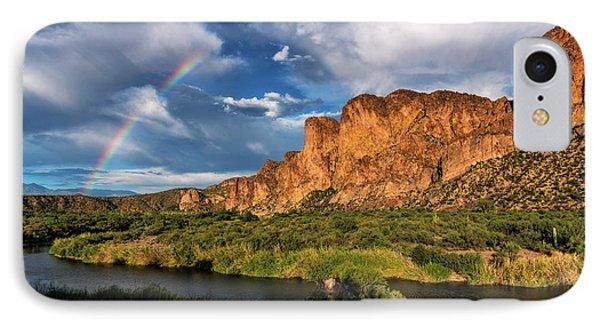 Rainbow Over The Bulldogs  IPhone Case