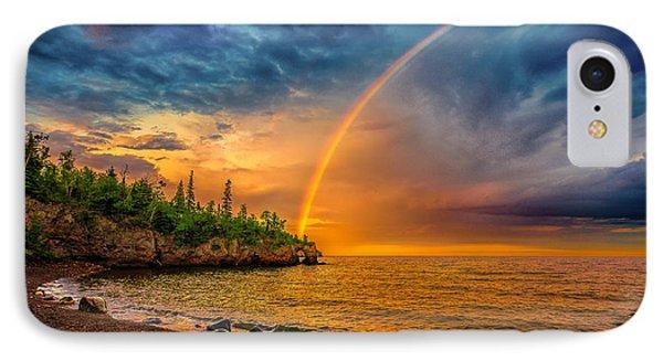 Rainbow Point IPhone Case