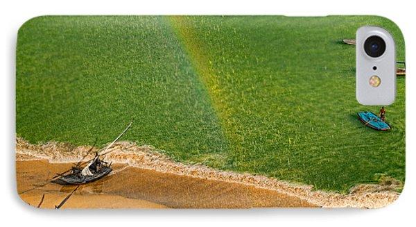 IPhone Case featuring the photograph Rainbow Rain by Kim Wilson
