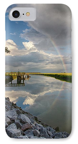 Rainbow Reflection IPhone Case by Patricia Schaefer