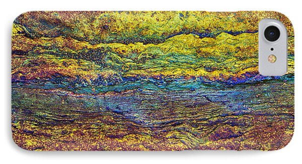 Rainbow Rock  IPhone Case by Tim Gainey