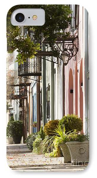 Rainbow Row Charleston Sc 2 IPhone Case by Dustin K Ryan