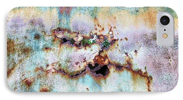 Rainbow Rust IPhone Case by Karen Stahlros