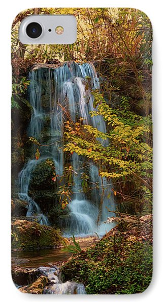 IPhone Case featuring the photograph Rainbow Springs Waterfall by Louis Ferreira
