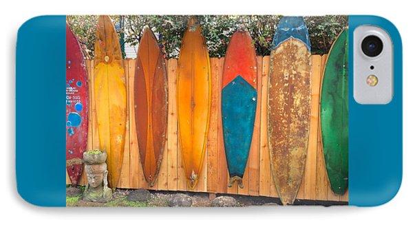 Surfboard Rainbow IPhone Case