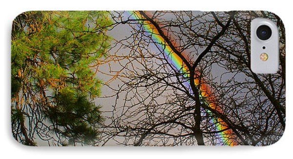 IPhone Case featuring the photograph Rainbow Tree by Ben Upham III