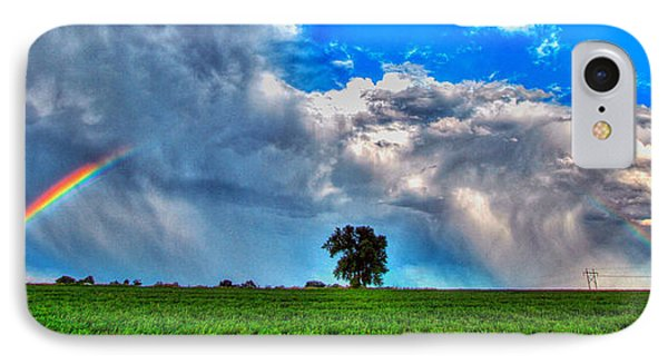 Rainbow Tree IPhone Case by Scott Mahon