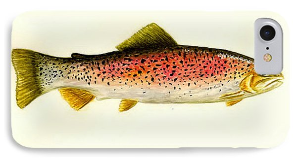 Rainbow Trout Phone Case by Michael Vigliotti