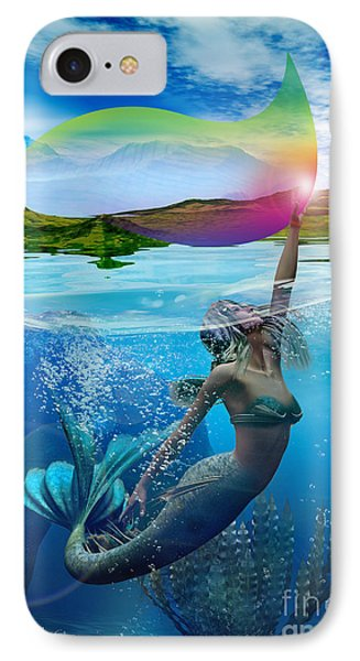 Rainbow Wave IPhone Case by Shadowlea Is