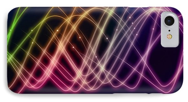 Rainbow Waves Phone Case by Anthony Caruso