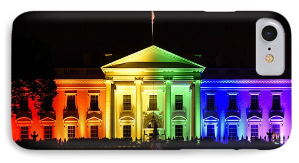 Rainbow White House  - Washington Dc IPhone Case