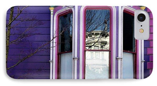 Rainbow Window IPhone Case by Julie Gebhardt