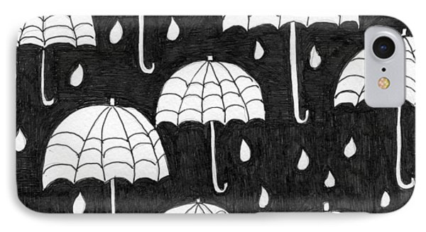 Raindrops IPhone Case by Lou Belcher