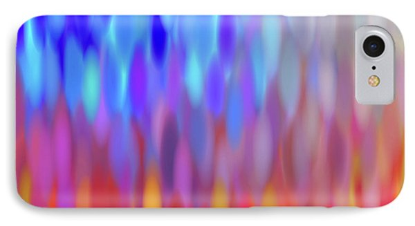 IPhone Case featuring the digital art raindrops No.1 by Tom Druin