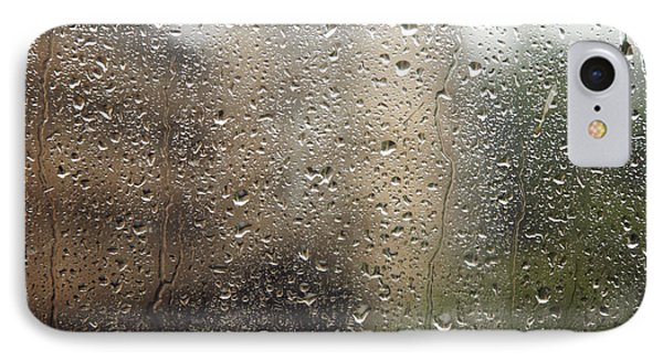 Raindrops On Window Phone Case by Brandon Tabiolo - Printscapes