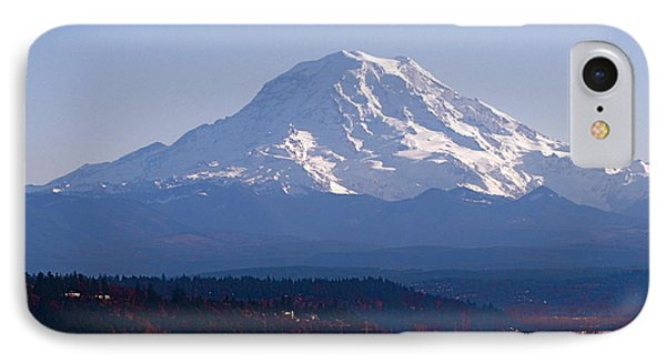 IPhone Case featuring the photograph Rainier 3 by Sean Griffin