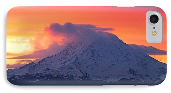 IPhone Case featuring the photograph Rainier 6 by Sean Griffin