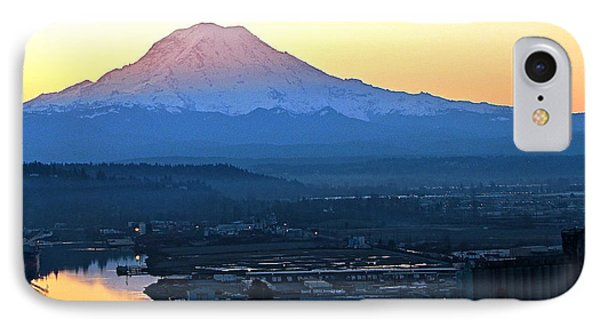 IPhone Case featuring the photograph Rainier 7 by Sean Griffin