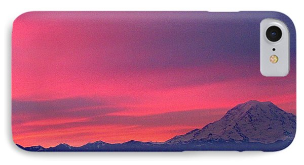 IPhone Case featuring the photograph Rainier 9 by Sean Griffin