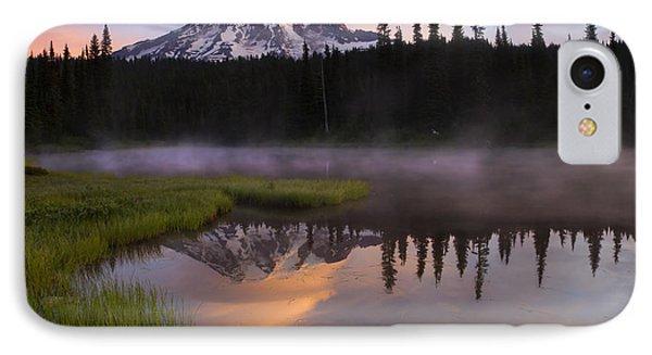 Rainier Lenticular Sunrise IPhone Case