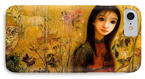 Raining Garden Phone Case by Shijun Munns