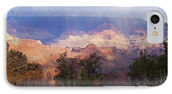 Raining In The Canyon IPhone Case by Marna Edwards Flavell