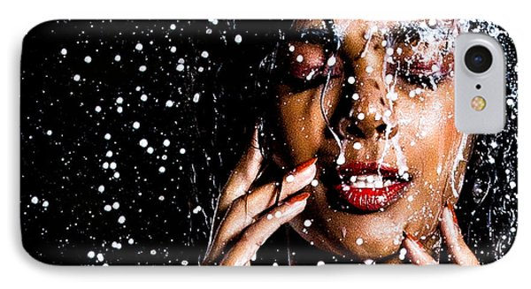 Rainning IPhone Case by Gregory Worsham