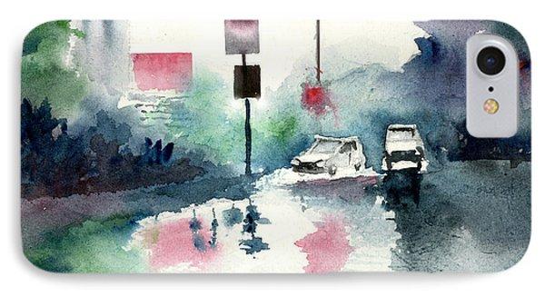 Rainy Day Phone Case by Anil Nene