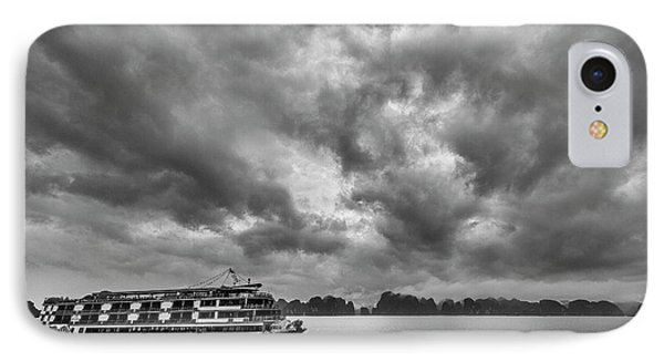 IPhone Case featuring the photograph Rainy Day Cruise by Hitendra SINKAR