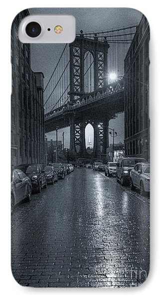 Rainy Day In Brooklyn IPhone Case by Marco Crupi
