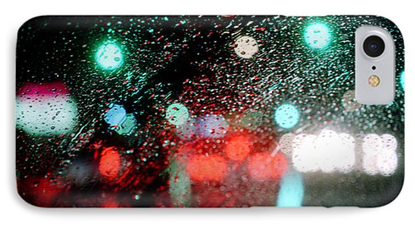 Rainy Day In The City IPhone Case