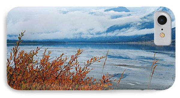 Rainy Day In The Mountains IPhone Case by Larry Ricker