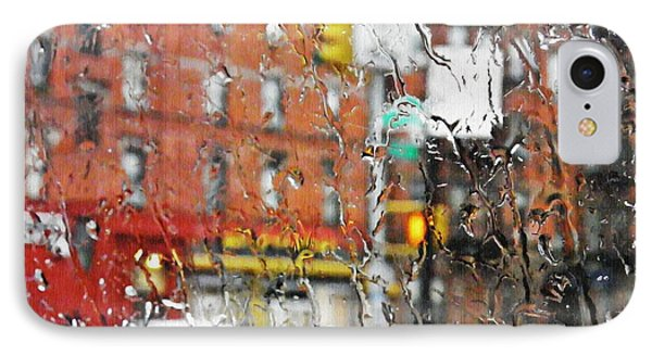 Rainy Day Nyc 2 Phone Case by Sarah Loft