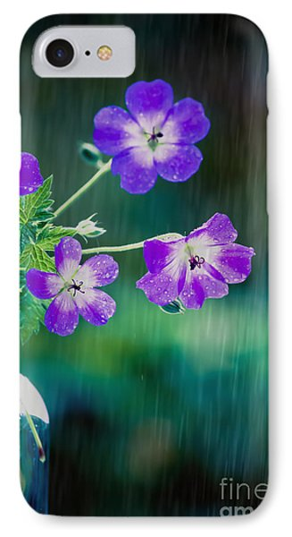 Rainy Days And Mondays IPhone Case by Jan Bickerton