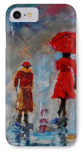 Rainy Spring Day IPhone Case by Sher Nasser