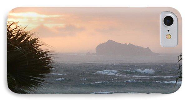 Rainy Xmas Sunrise IPhone Case by Margaret Brooks