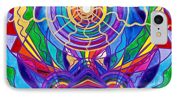 T Shirts iPhone 7 Case - Raise Your Vibration by Teal Eye Print Store