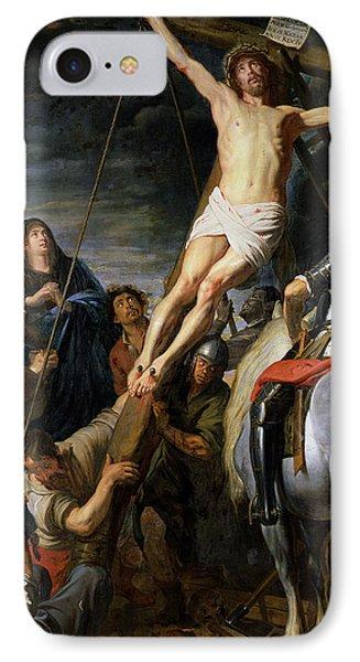 Raising The Cross Phone Case by Gaspar de Crayer