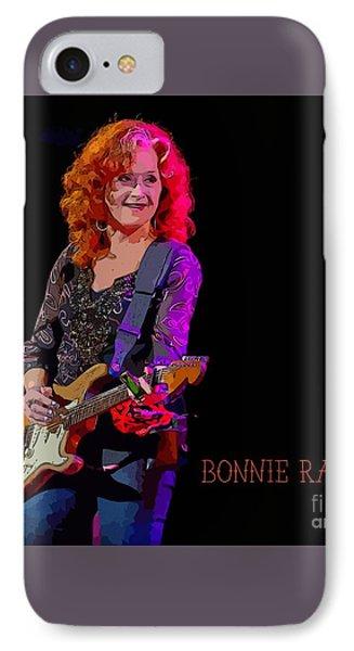 Raitt On Stage IPhone Case by John Malone