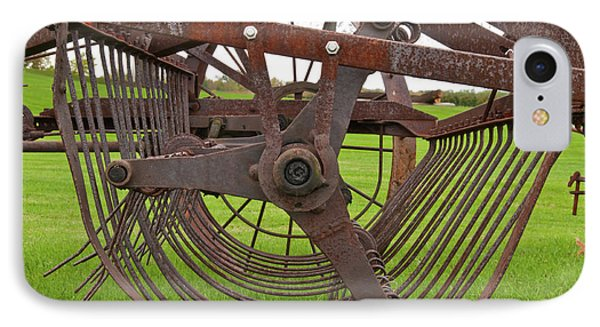 IPhone Case featuring the photograph Rake 3118 by Guy Whiteley