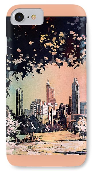 Raleigh Skyline V IPhone Case by Ryan Fox