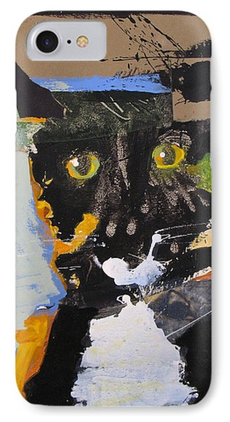 Ralph Abstracted IPhone Case by Cliff Spohn