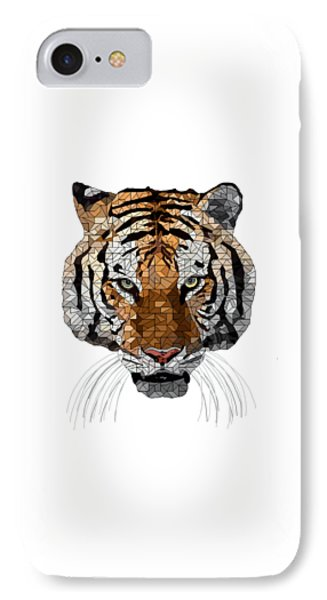 Rama The Tiger IPhone Case by David Smith