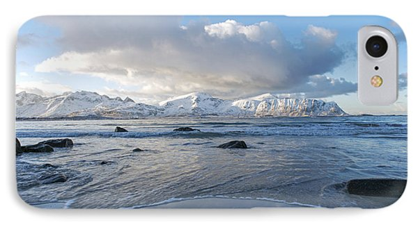 Ramberg Beach, Lofoten Nordland IPhone 7 Case by Dubi Roman