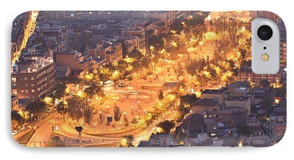 IPhone Case featuring the photograph Rambla Del Carmel Barcelona by Marek Stepan