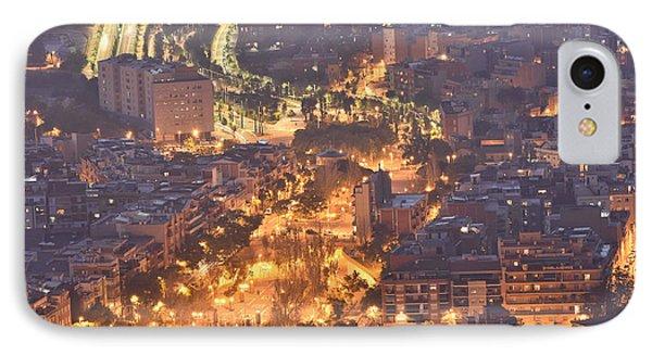 IPhone Case featuring the photograph Rambla Del Carmel Barcelona Spain by Marek Stepan