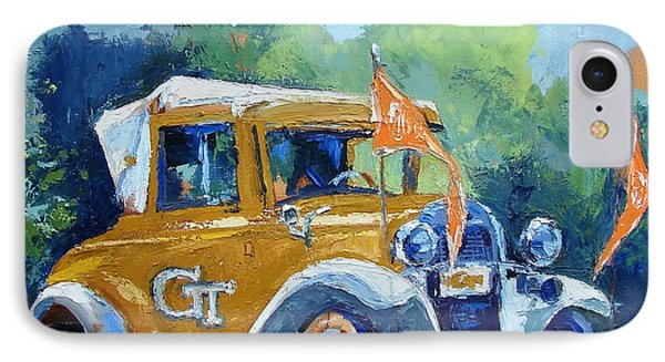 Ga Tech Ramblin' Wreck - Part Of College Series IPhone Case