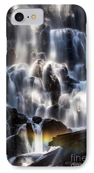 Ramona Falls With Rainbow IPhone Case by Patricia Babbitt