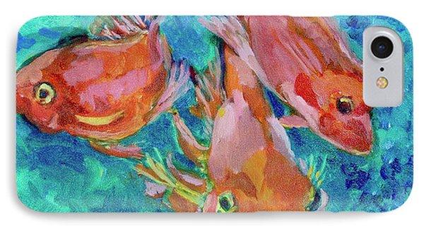 Ramshead Goldfish IPhone Case by Jan Bennicoff