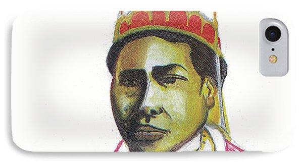 Ranavalona II Phone Case by Emmanuel Baliyanga